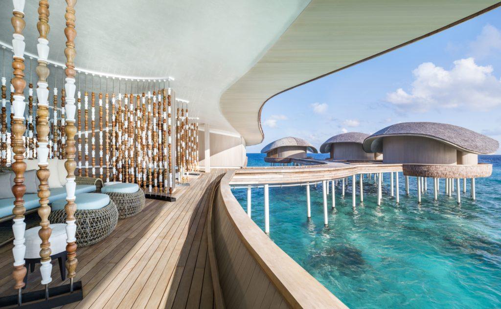 The St. Regis Maldives Vommuli Resort Zweimal Mit Dem World Luxury Spa  Award Ausgezeichnet