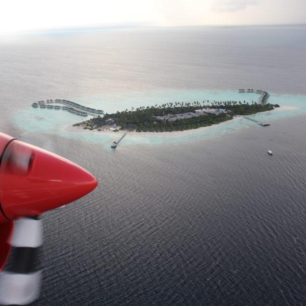 Amari Havodda_Sea Plane Aerial