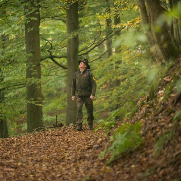 Ranger im Nationalpark Kellerwald-Edersee in Hessen