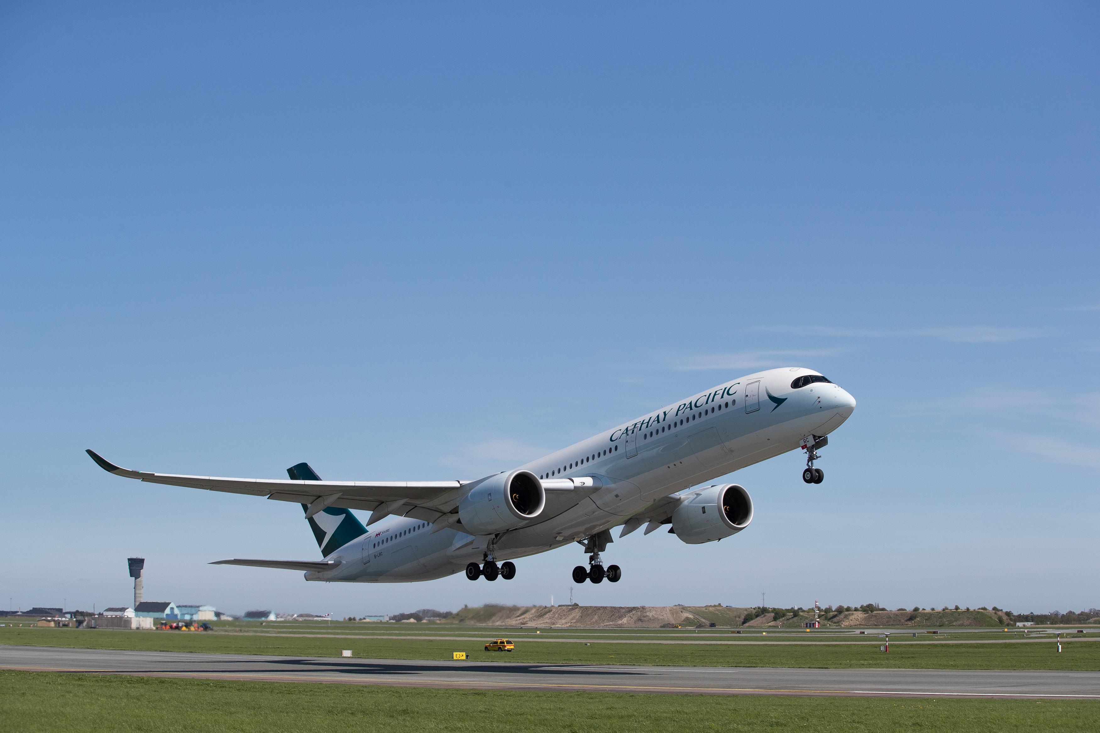 Cathay Pacific: Erste Airbus A350-900 startet von Kopenhagen
