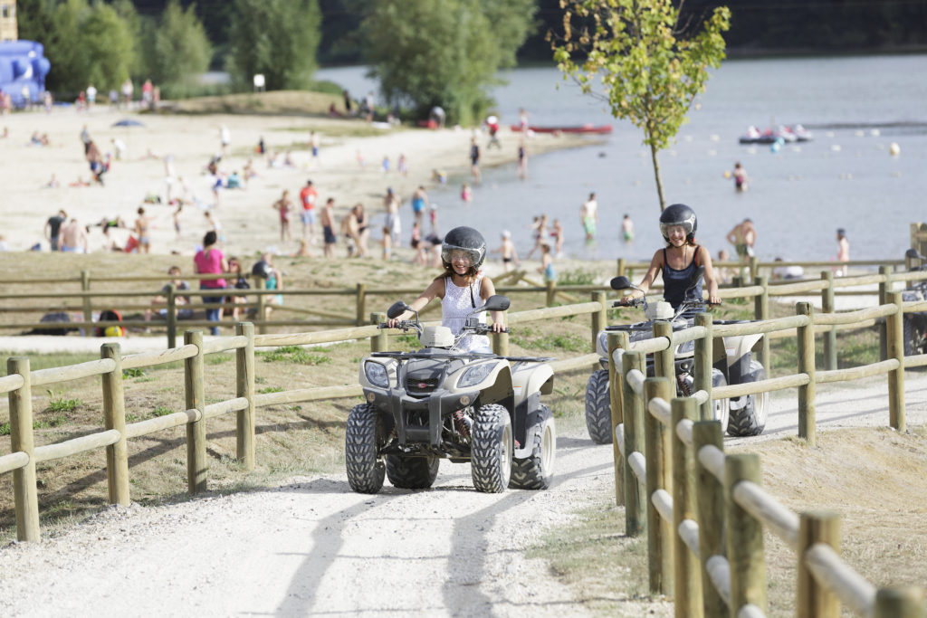 Mini Quad bei Center Parcs im Sommer