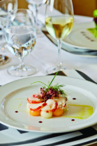 Fischgericht bei Regent Seven Seas Cruises