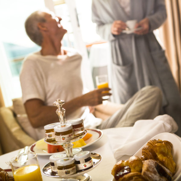 Frühstück in der Suite mit Regent