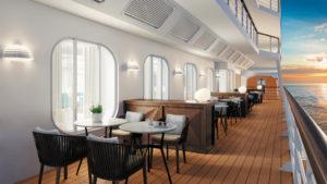 Außenbereich Rendering Seven Seas Splendor von Regent Seven Seas Cruises