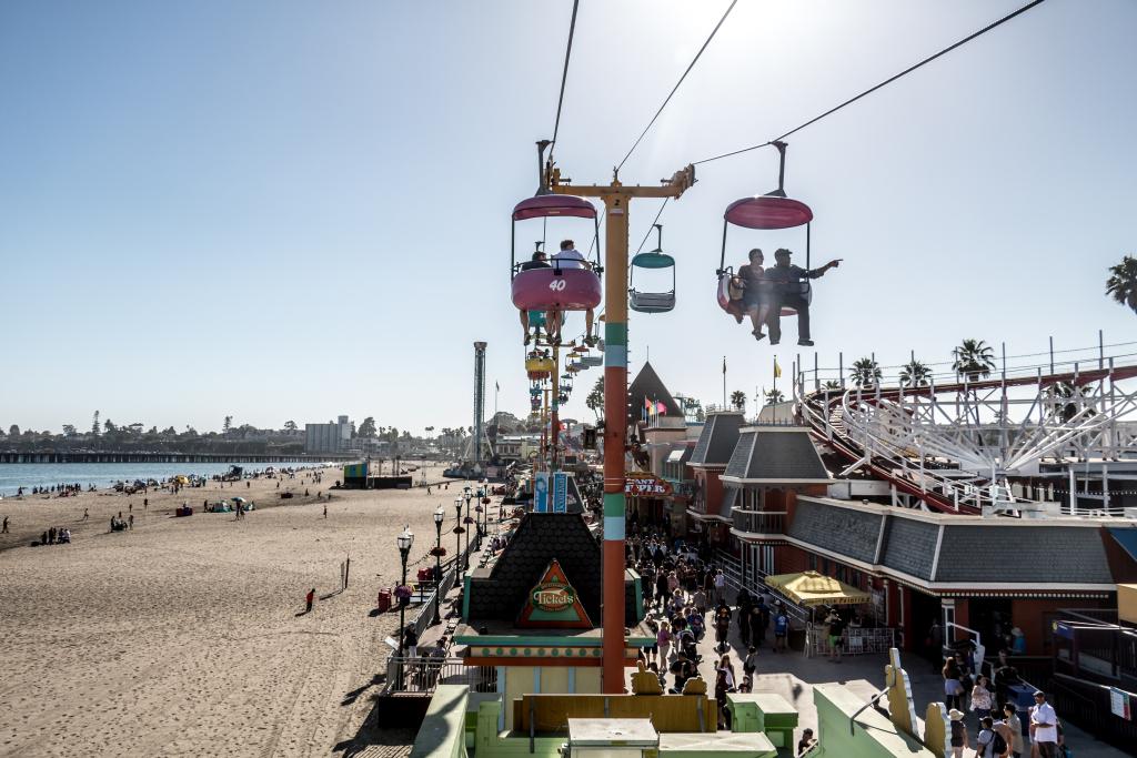 Santa Cruz Beach Boardwalk, ein Tagesausflug von San Jose