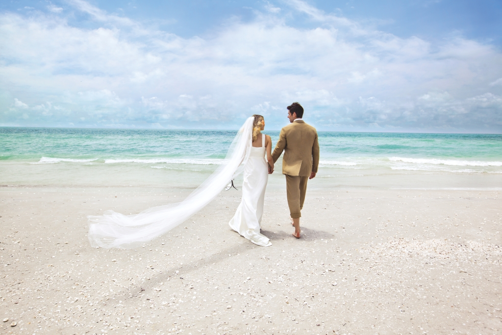 Hochzeit am Strand in The Beaches of Fort Myers & Sanibel
