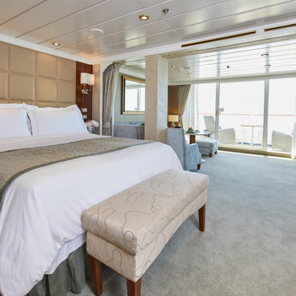 Penthouse Suite auf Seven Seas Mariner von Regent Seven Seas Cruises