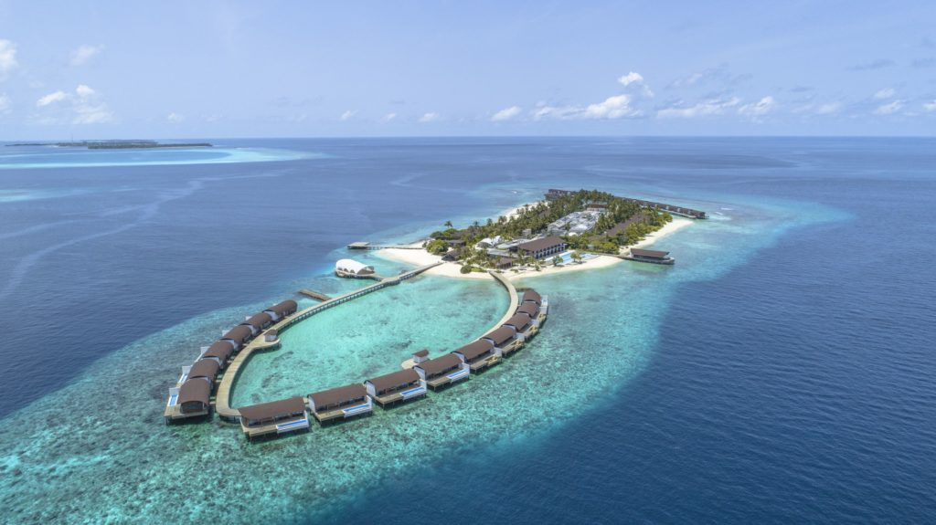 The Westin Maldives Miriandhoo Resort_Aerial_klein