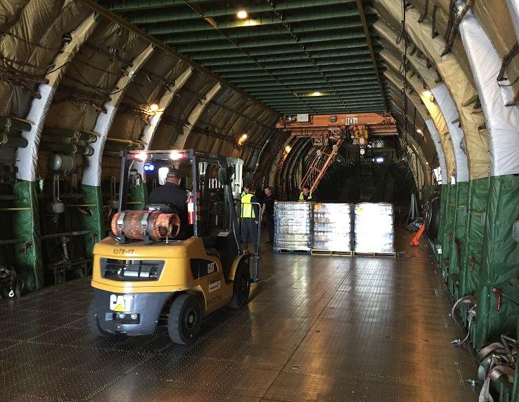 Air Partner Fracht stellt dringend benötigte Hilfsgüter zur Vorbereitung auf den Super-Taifun Mangkhut bereit
