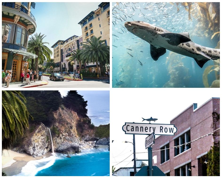 Von San Jose nach Monterey