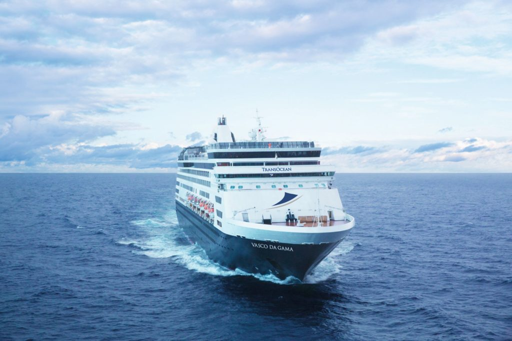 Stars an Bord von MS VASCO DA GAMA ©TransOcean Kreuzfahrten