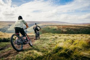 Mountainbiker in Sheffield - The Outdoor City