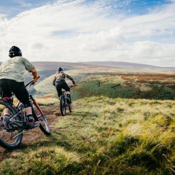 Mountainbiker in Sheffield - The Outdoor City
