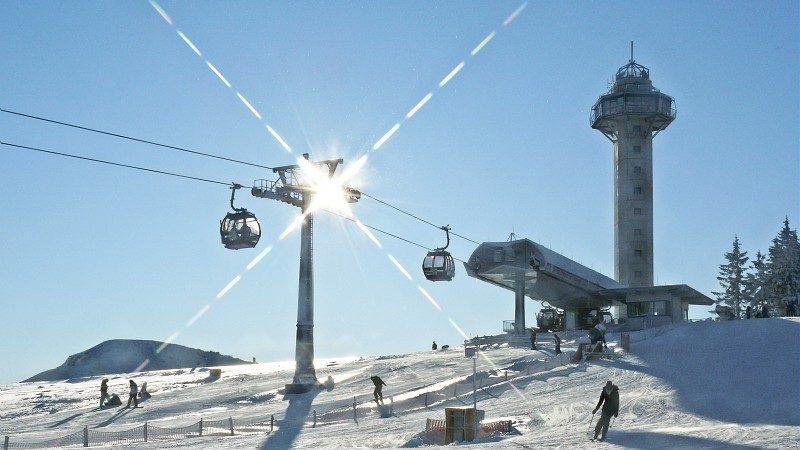 Wintersporterlebnisse im neugestalteten Center Parcs Park Hochsauerland