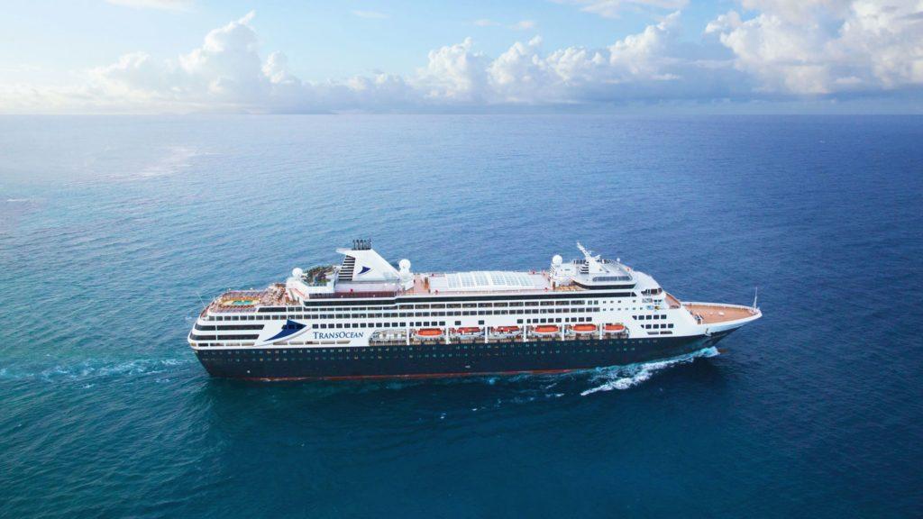 """TransOcean Kreuzfahrten mit neuem Parkservice-Partner """"Parken und Meer"""" ©TransOcean Kreuzfahrten"""