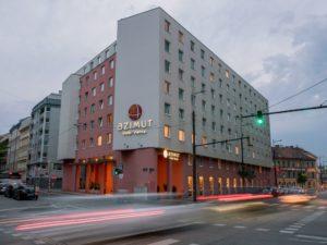 Zweite Auszeichnung für das AZIMUT Hotel Vienna ©AZIMUT Hotels