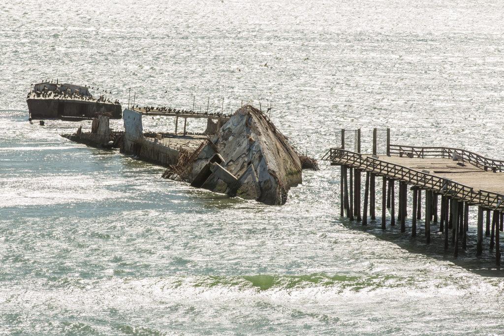 Schiffswrack Santa Cruz County