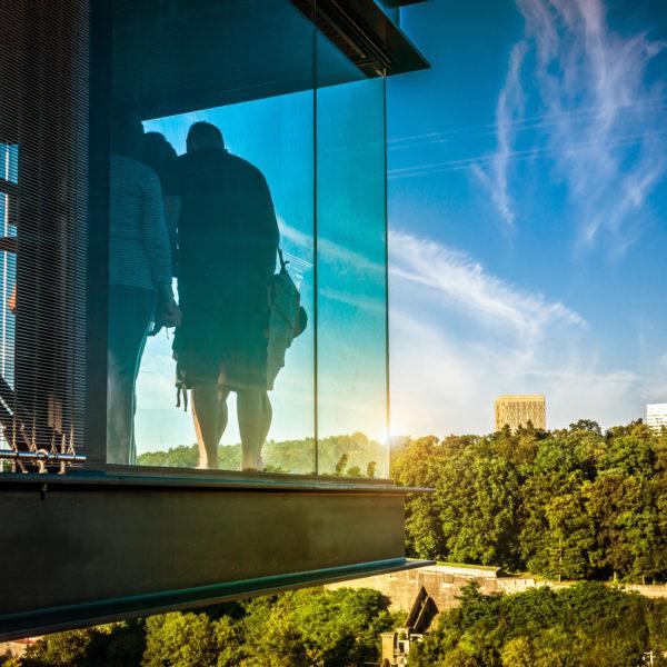 Luxembourg panoramic elevator © Sabino Parente