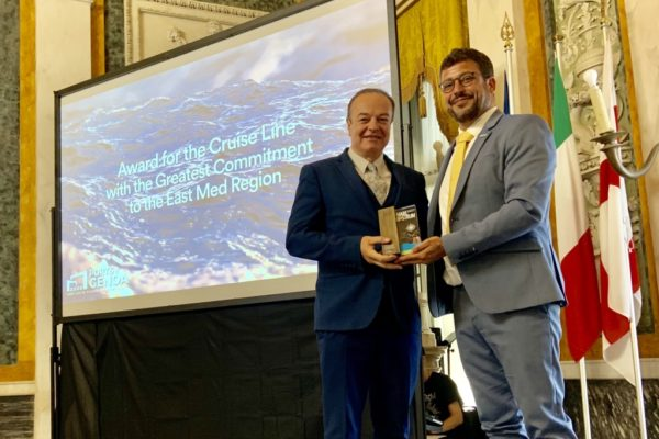 Celestyal Cruises bei den MedCruise Awards 2019
