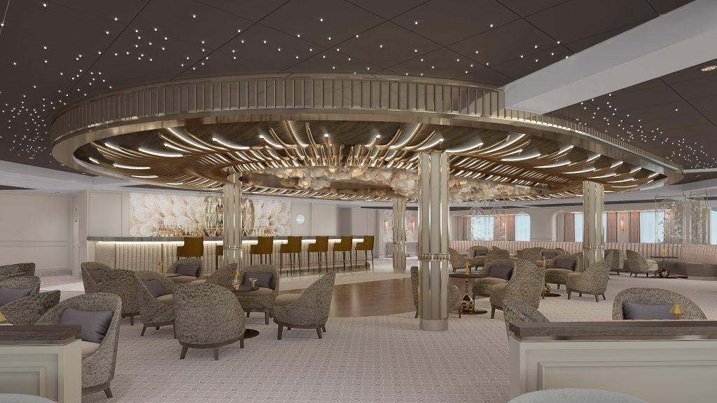 Observation Lounge auf der Seven Seas Splendor