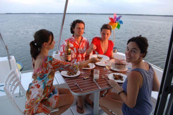 Feinschmecker Fahrt © Locaboat Holidays