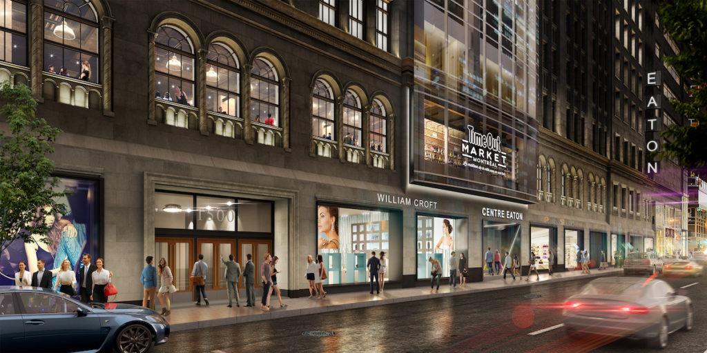Time Out Market Montréal - rendu artistique du projet 1