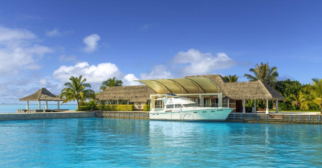 Sheraton Maldives Full Moon Resort & Spa_Arrival Pavillon