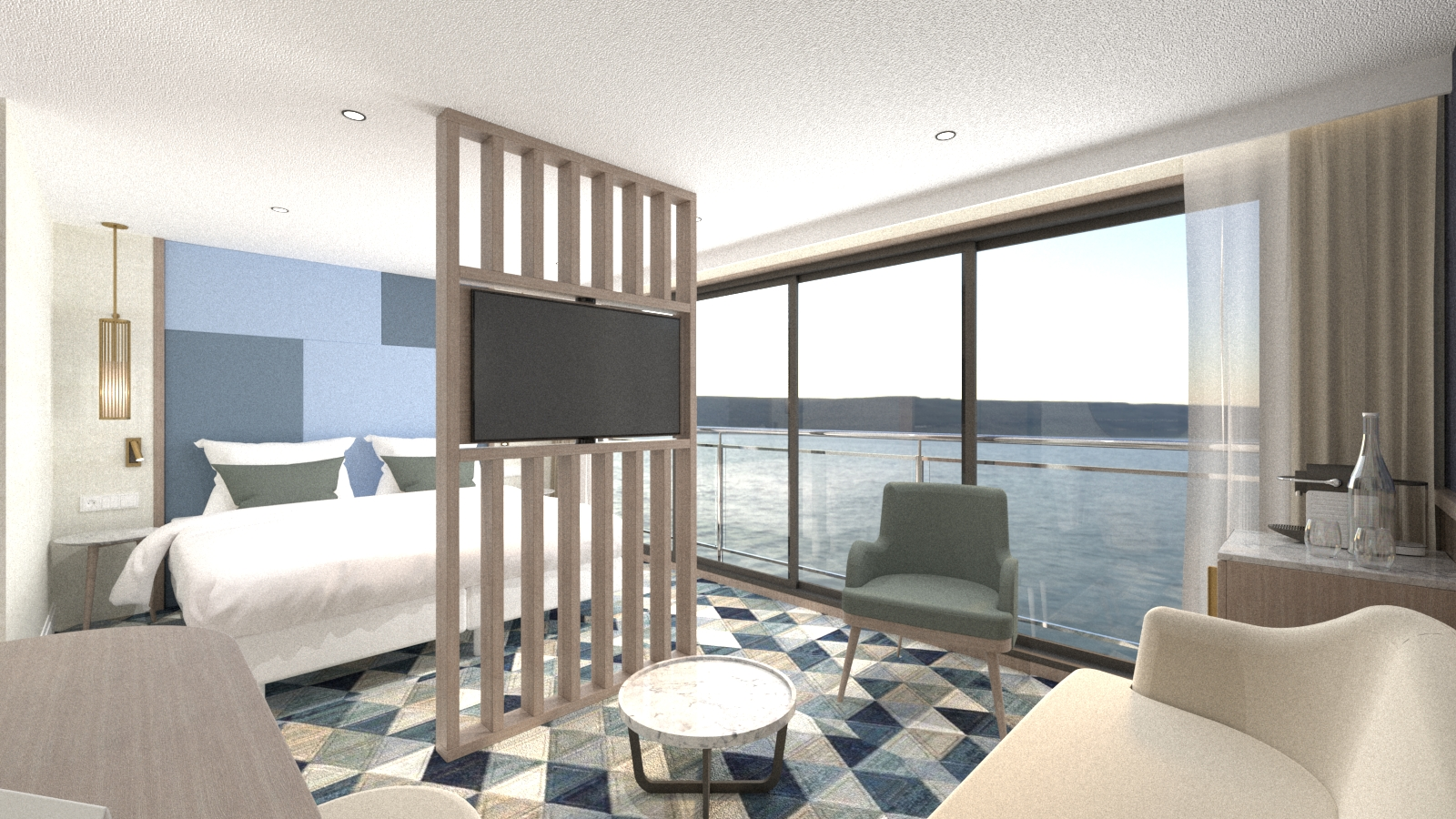 Erster Neubau ©VIVA Cruises
