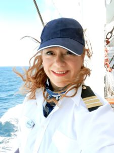 Kreuzfahrtdirektorin Kathrin © TransOcean Kreuzfahrten