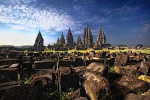 Prambanan Tempelanlage auf Java in Indonesien