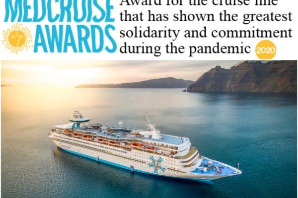 Celestyal Cruises für Solidarität ausgezeichnet