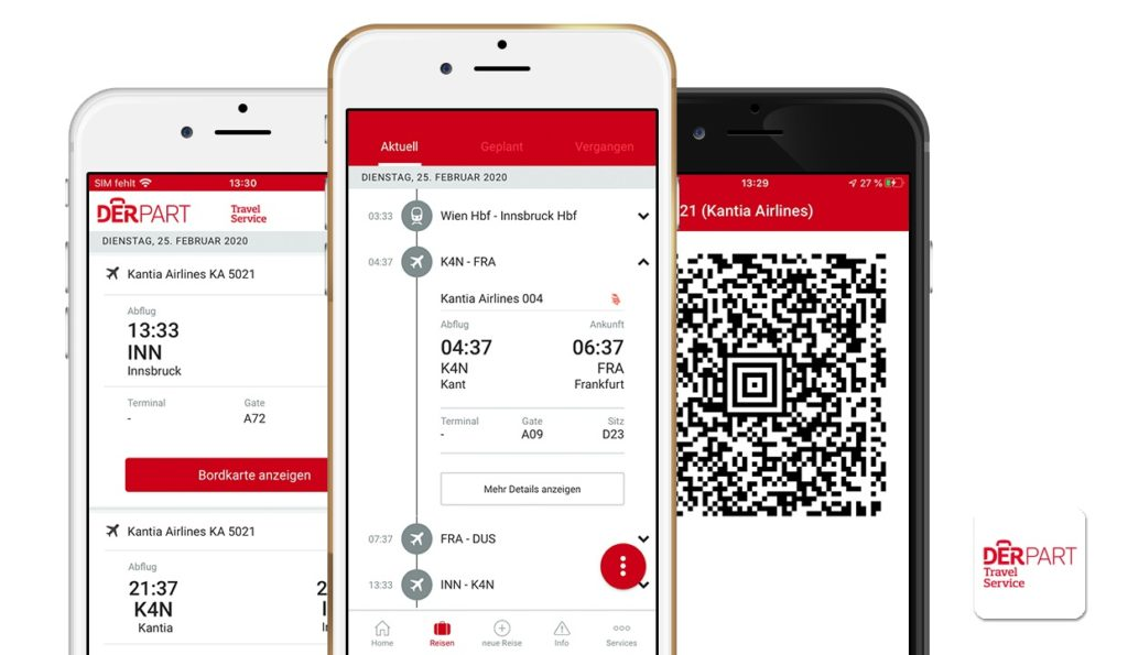 DERPART Travel Service App: Mobility Manager