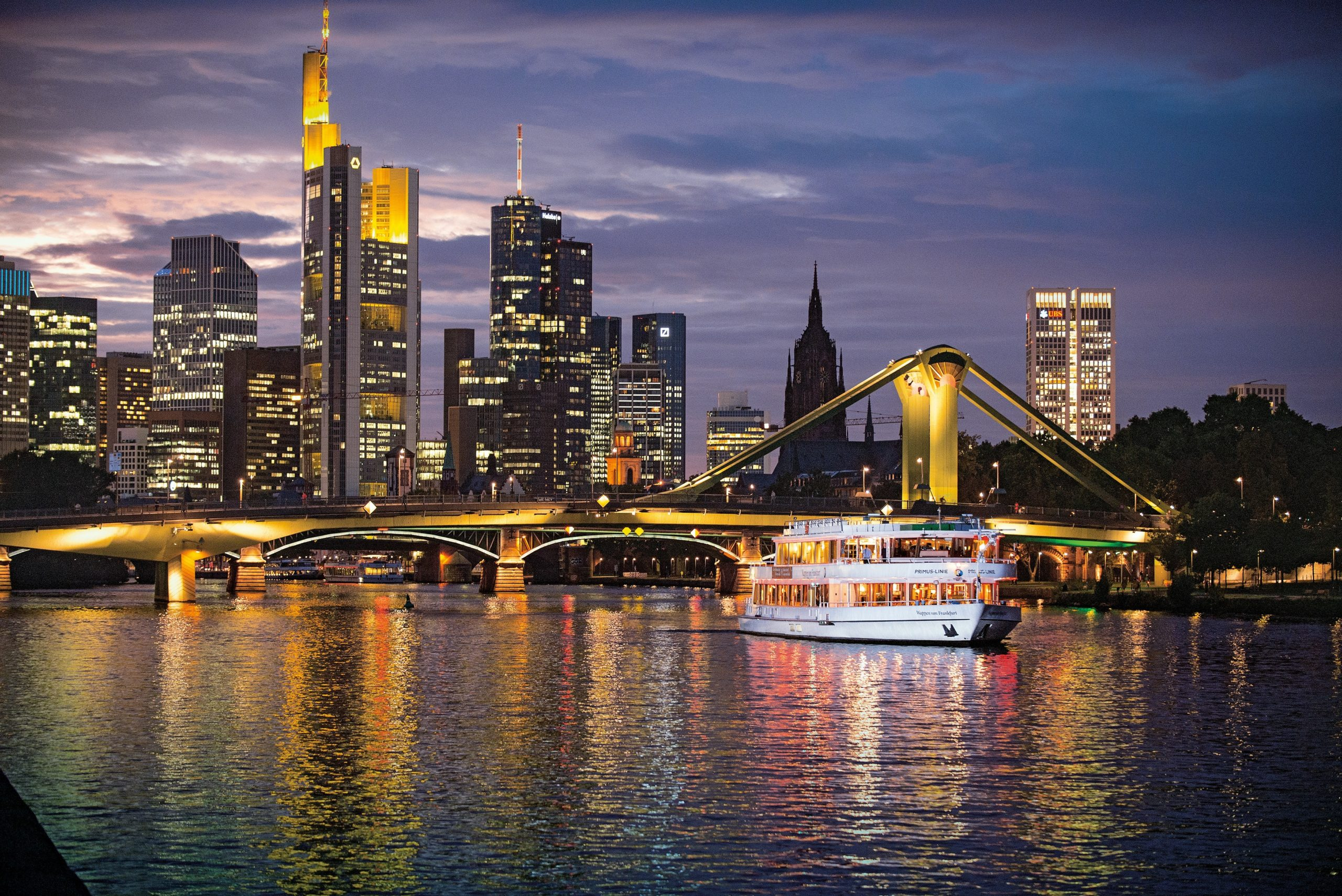 Urlaub auf dem Wasser © Frankfurter Personenschiffahrt, Primus-Linie