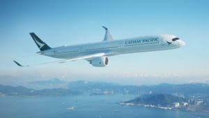 Cathay Pacific mit Black Friday Deals